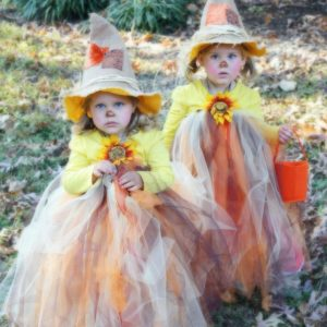 DIY Scarecrow Tutu Halloween Costume – Designer Trapped in a Lawyer's Body - Halloween Costumes: The 15 Cutest Ideas for Kids featured on Kenarry.com