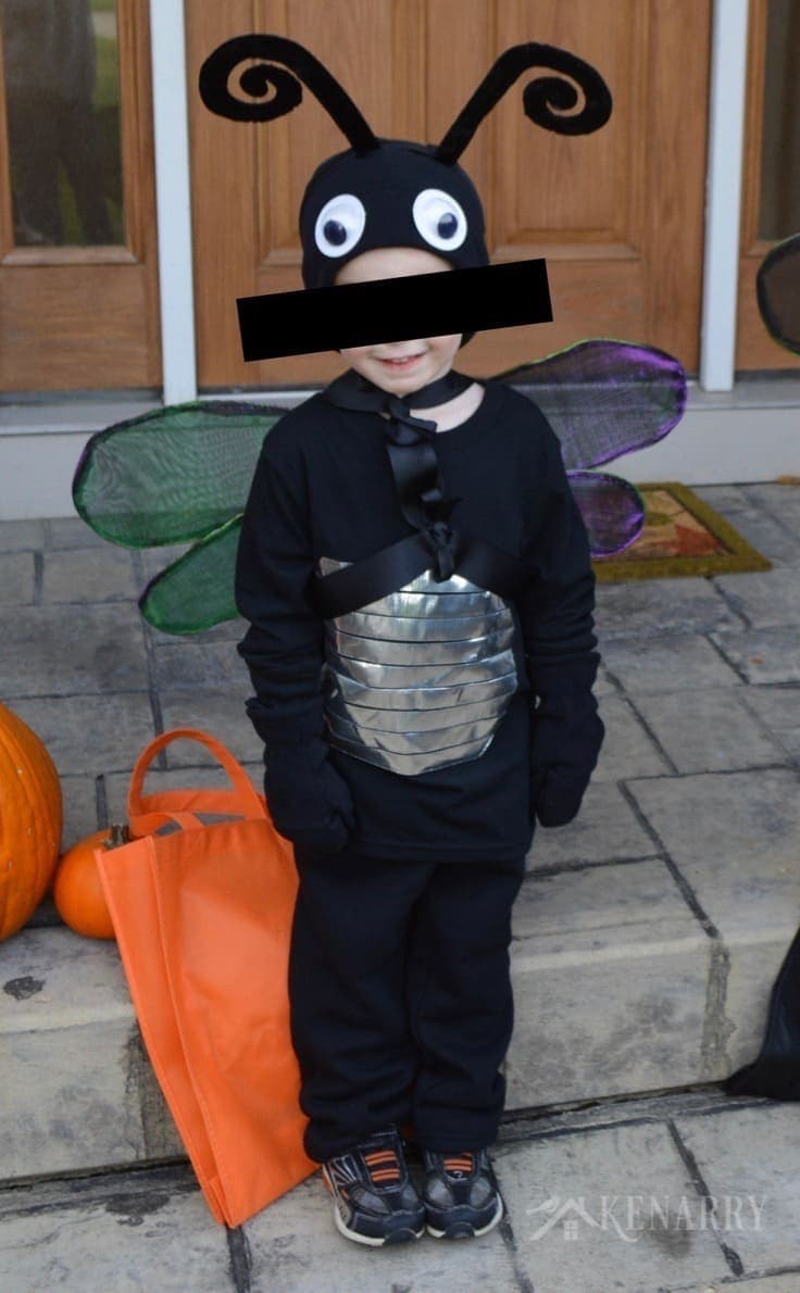 firefly costume: diy lightning bug idea for halloween