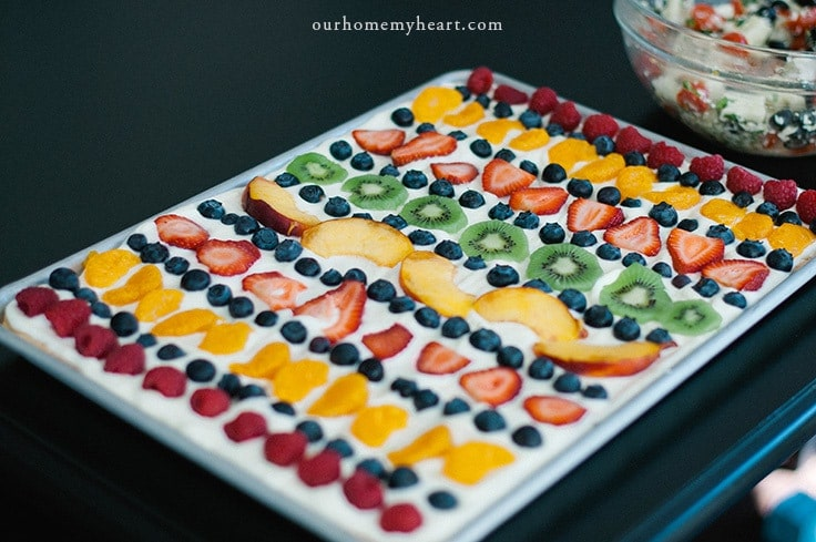 Mom's Fruit Pizza