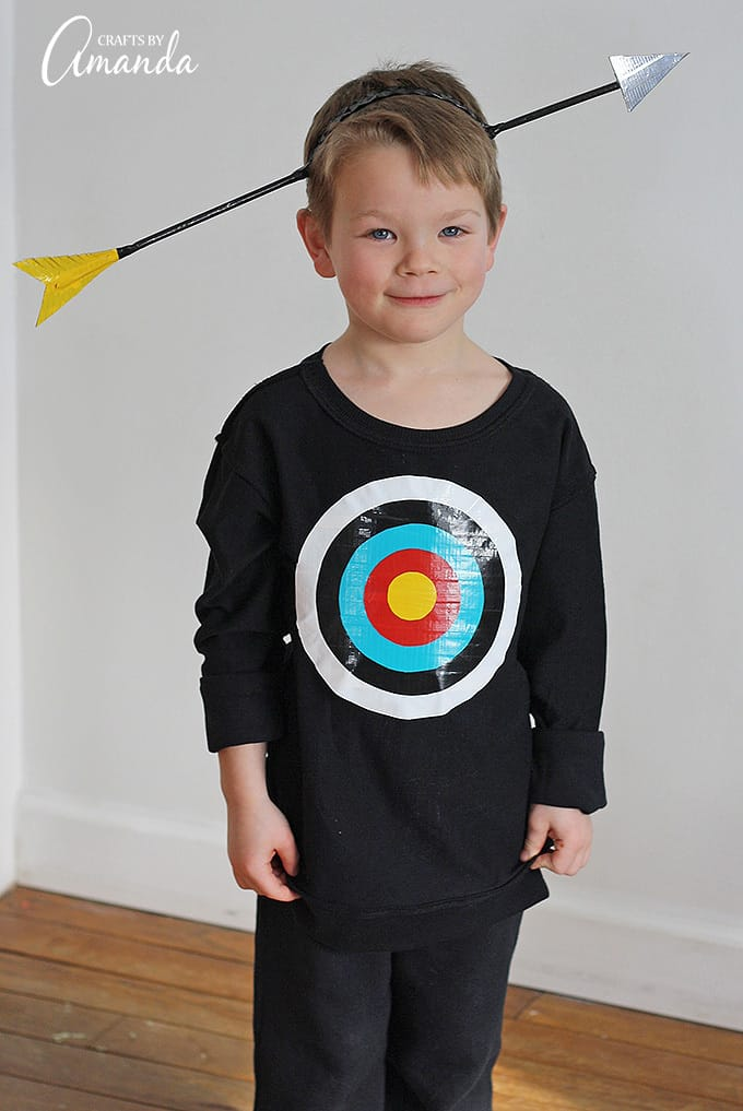 Bullseye Costume – Crafts by Amanda - Halloween Costumes: The 15 Cutest Ideas for Kids featured on Kenarry.com
