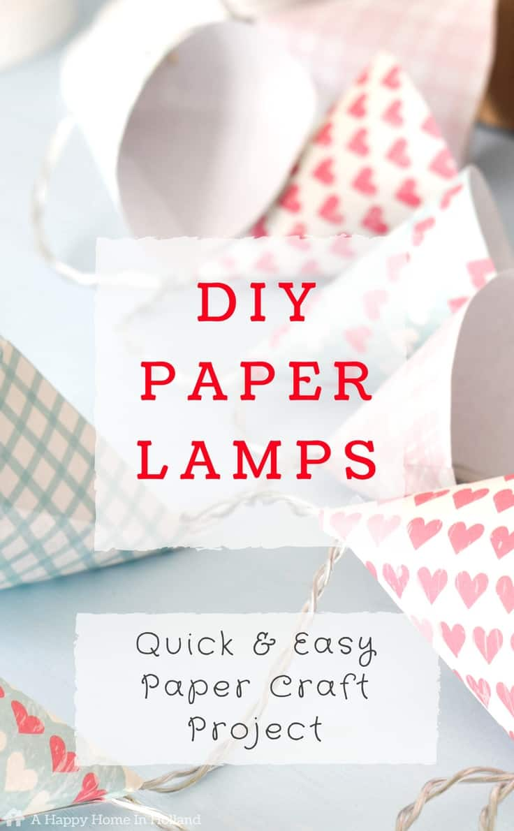 Mini diy paper lampshade covers easy led lights upcycle idea diy mini paper lampshades learn how to make these pretty paper cone covers for your aloadofball Choice Image