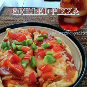 Grilled Pizza by Trish Sutton