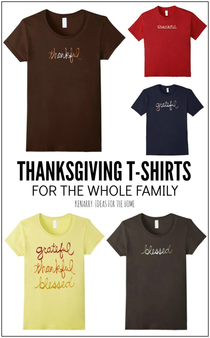 085ac206ec3 Thanksgiving Shirts  Stylish T-Shirt Designs for Your Family