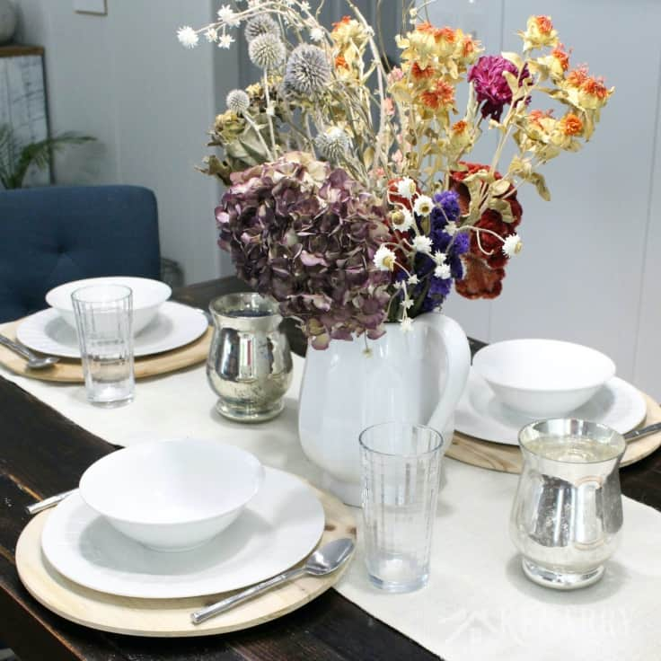 Thanksgiving Table Decor: 5 Easy Ideas + Free Printable