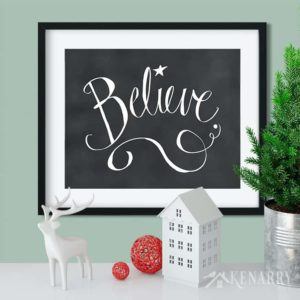 With the Christmas printables collection from Kenarry: Ideas for the Home, you can easily update your home decor for the holiday season. Each of the 21 prints in this collection is available as digital printable art on Etsy.