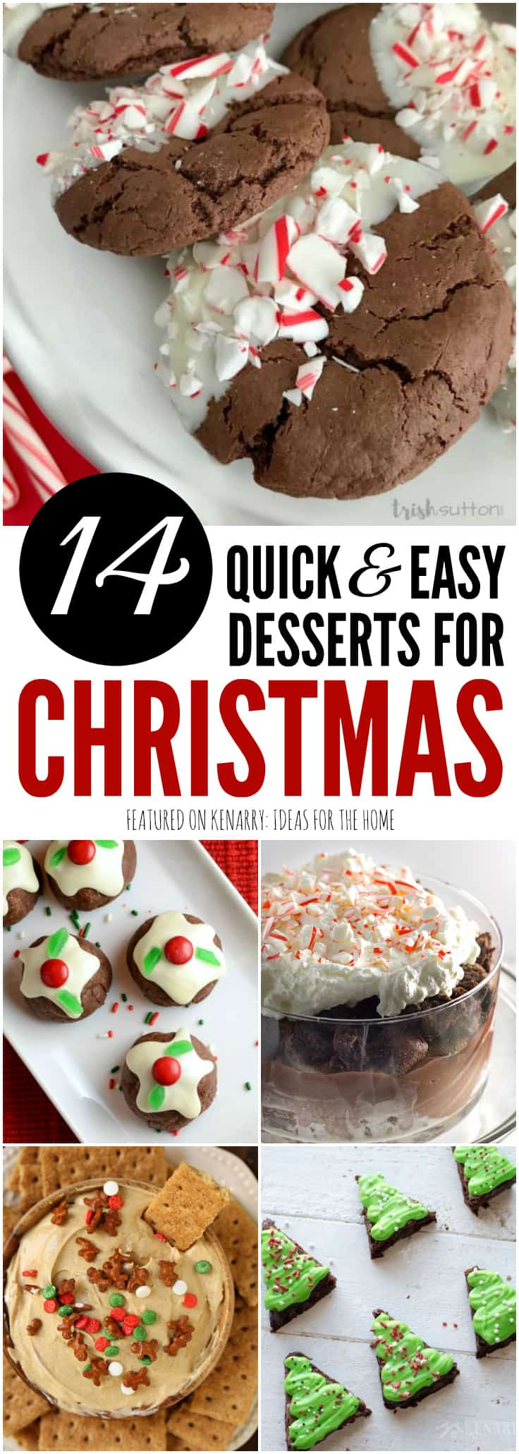 Easy dessert recipes 14 christmas potluck ideas for Easy quick christmas baking recipes