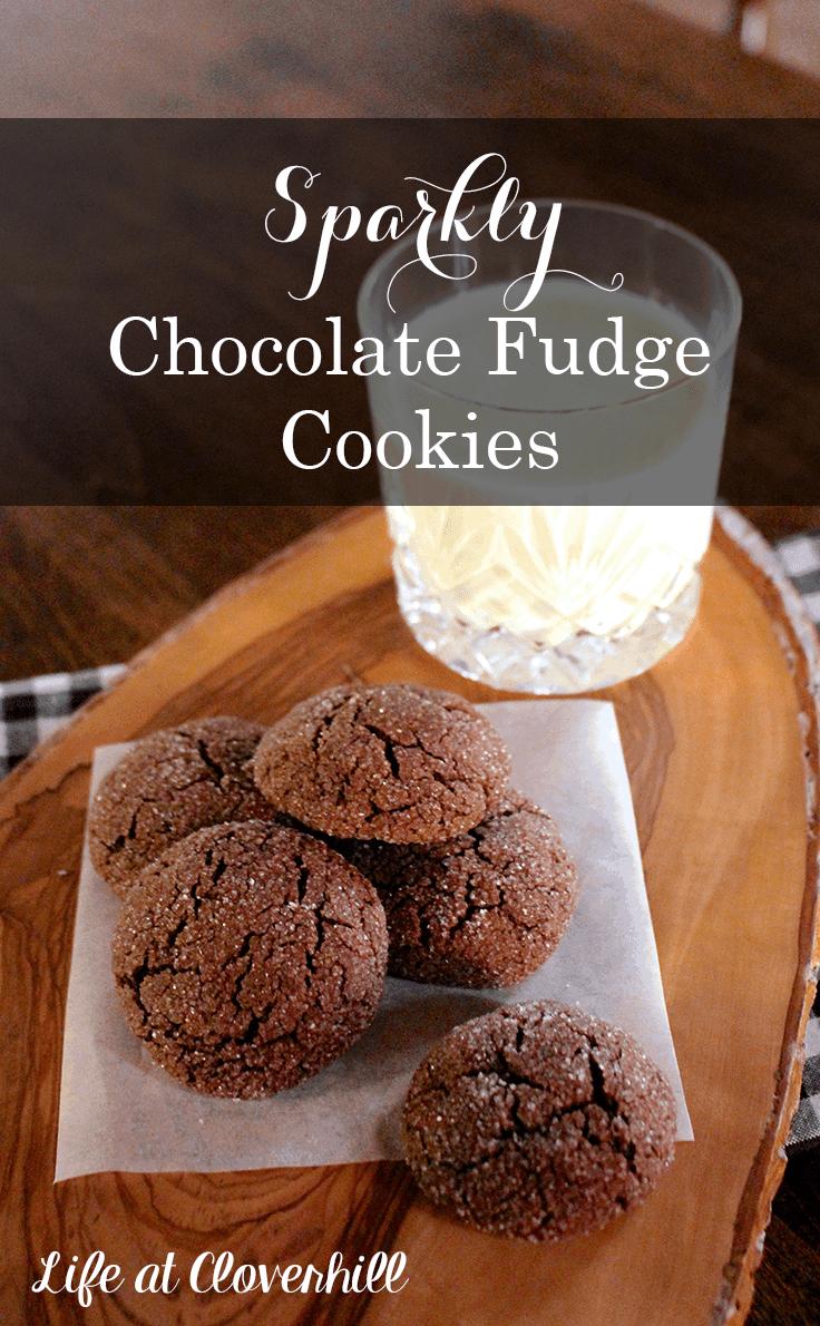 sparkly-chocolate-fudge-cookies-christmas-cookies