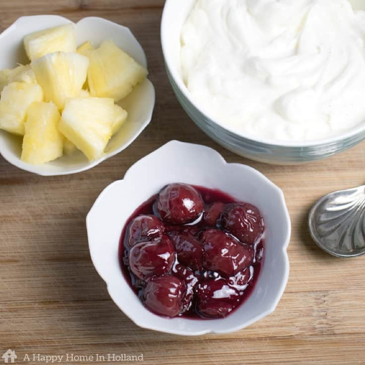 Traditional Dutch Hangop - recipe for a delicious thick and creamy yogurt curd dessert