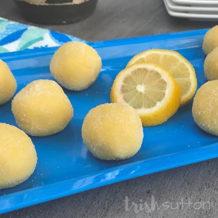 Lemon Truffles: No Bake Easy Dessert Recipe