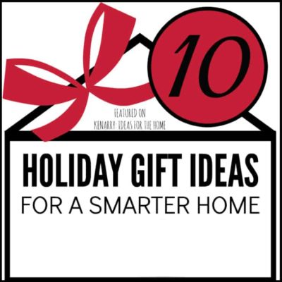 Love these holiday gift ideas for a smarter home! 10 different products to give your favorite tech geek who wants to get started with home automation this Christmas season.