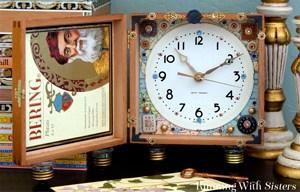 Make a Steampunk Cigar Box Clock using a clock kit and a cigar box! We'll show you how!