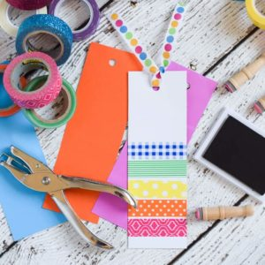 Washi Tape Bookmarks: A Simple Craft for Kids