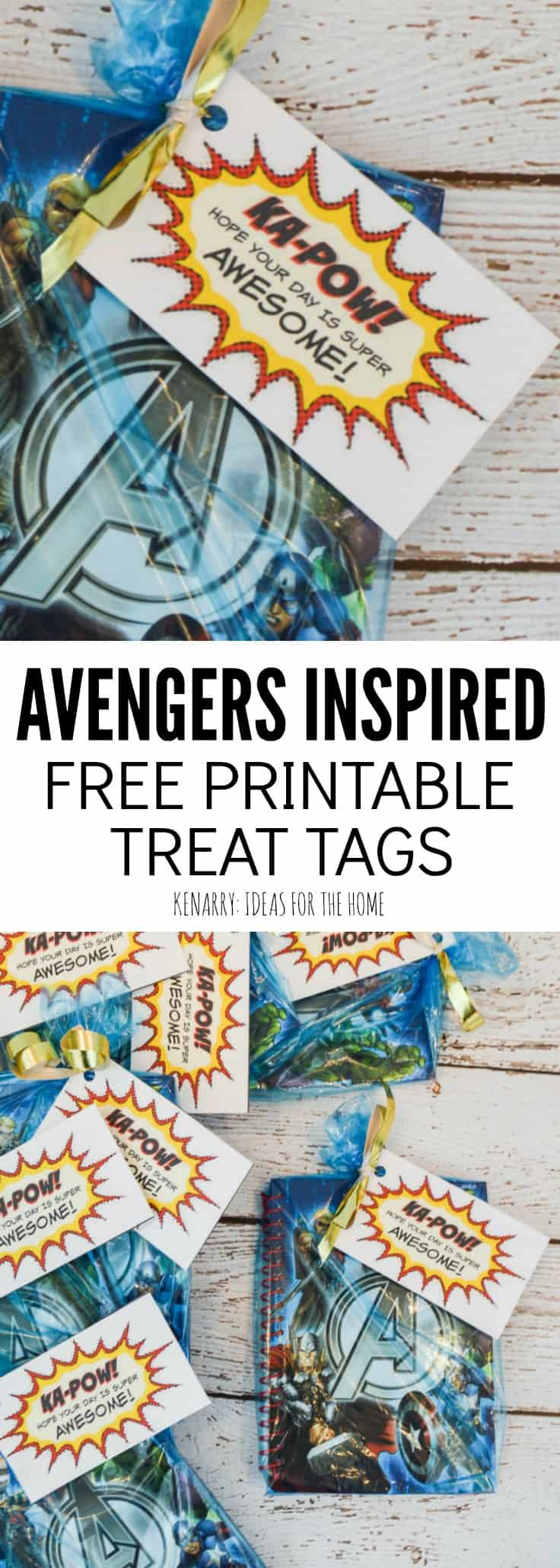 Need Avenger Party Favors for your child's birthday? These free printable party tags can be attached to any gift bag to celebrate a kid that loves Spiderman, Iron Man, Captain America, The Hulk and other Marvel Super Heroes!