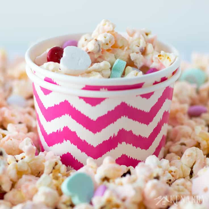 Dish Up Bowls Of This Festive And Fun Cupid Popcorn For Your Valentineu0027s Day  Party.
