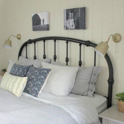 DIY Brass Wall Lamp IKEA Hack