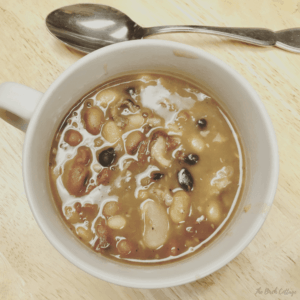 Instant Pot Ham Bone and 15 Bean Soup Recipe by The Birch Cottage