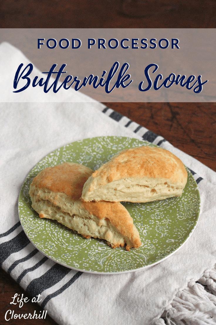 Food processor buttermilk scones easy breakfast recipe kenarry food processor buttermilk scones forumfinder Gallery