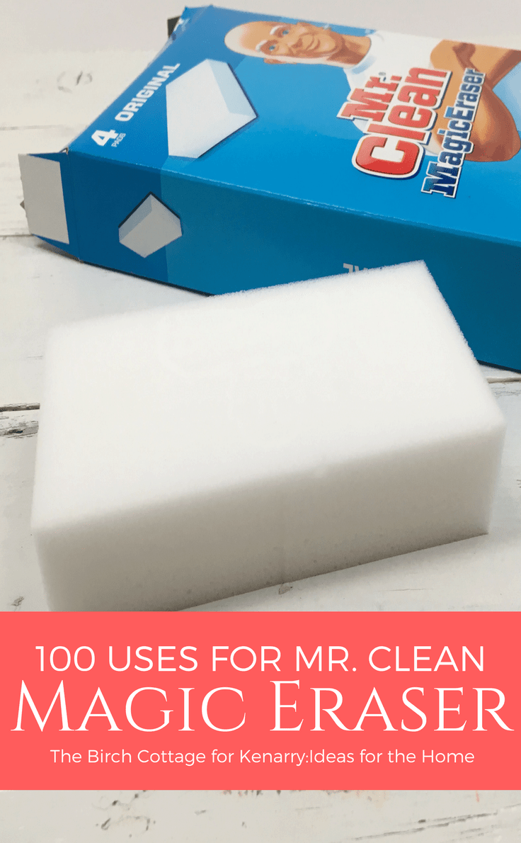 Color magic car polish silver - 100 Uses For Mr Clean Magic Eraser By The Birch Cottage