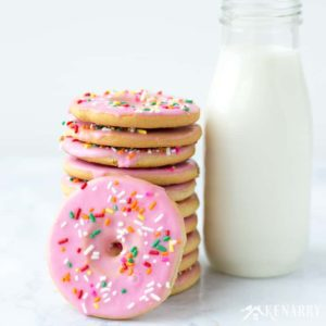 Donut Cookies: Easy Idea Using Sugar Cookie Dough