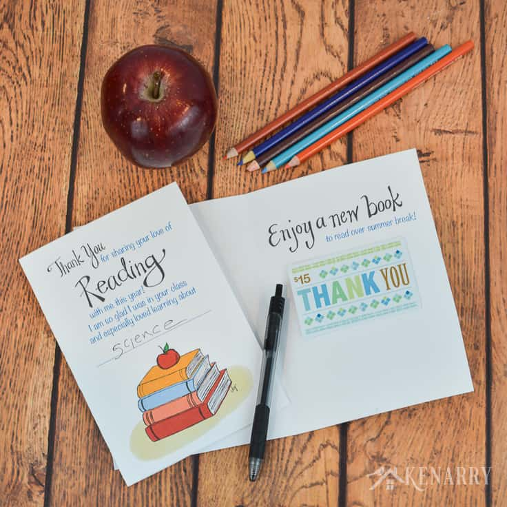 say thank you to your childs teacher with this free printable teacher appreciation card it