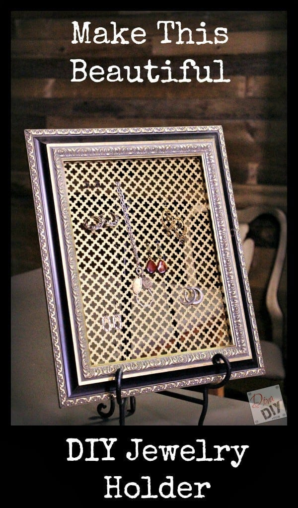 How to Make Your Own DIY Jewelry Organizer – Diva of DIY - 16 Brilliant Ideas for DIY Jewelry Organizers on Kenarry.com