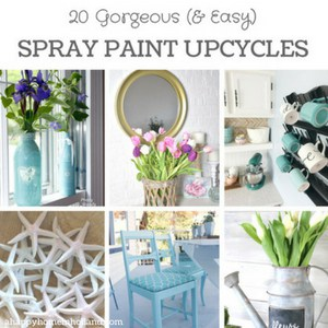 20 easy spray paint upcycle ideas