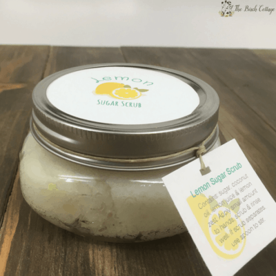 Lemon Sugar Scrub by The Birch Cottage