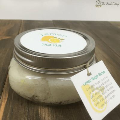 Lemon Sugar Scrub by The Birch Cottage