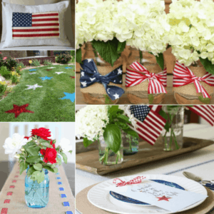 DIY Patriotic Print Decor Ideas for your home from The Birch Cottage