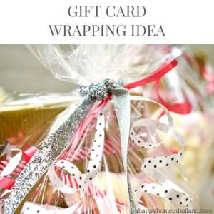 Easy Gift Wrap Idea Movie Tickets & Vouchers