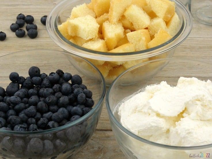 blueberry shortcake trifles ingredients
