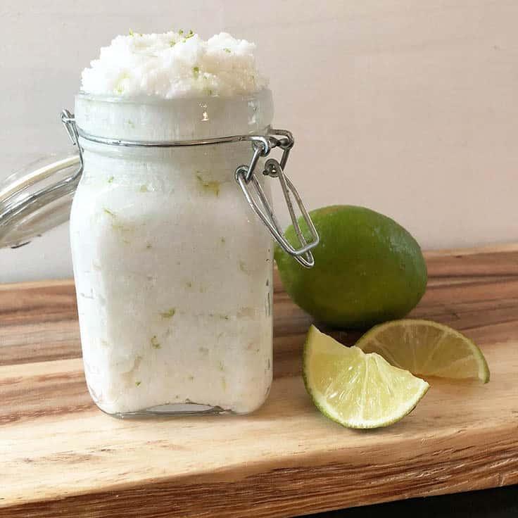DIY Coconut Lime Body Scrub Recipe for the Perfect Beach Glow