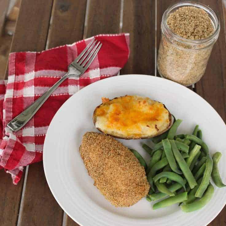 Homemade Shake and Bake Breading Mix: Easy Dinner Idea