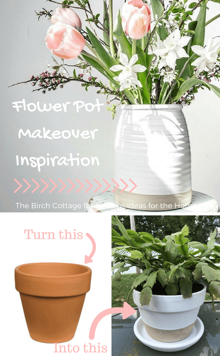 Flower Pot Makeover Inspiration
