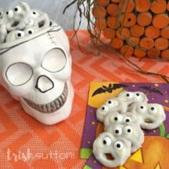 Amazingly Simple Halloween Ghost Treats Vanilla Salty Sweet; TrishSutton.com