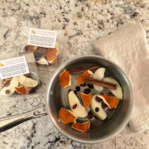 All-Natural Homemade Stovetop Air Freshener for Fall