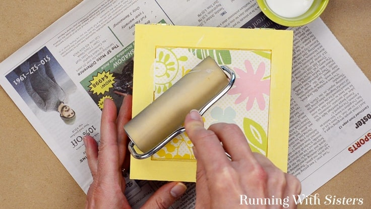 Make an Easy Jewelry Box with a cute label. We'll show you how to decoupage the box with scrapbook paper and a cute downloadable