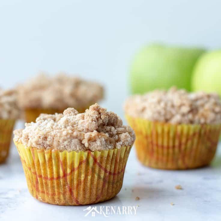 Apple Coffee Cake Muffins: Easy Recipe Idea