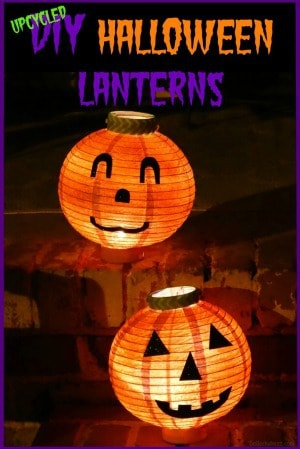 Halloween wreath other ideas DIY Halloween Lanterns