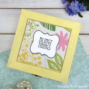 How To Make An Easy Jewelry Box With A Cute Label