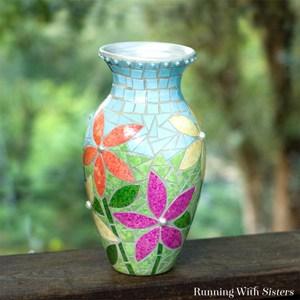 Art Deco Pottery Vase With Kinko Design