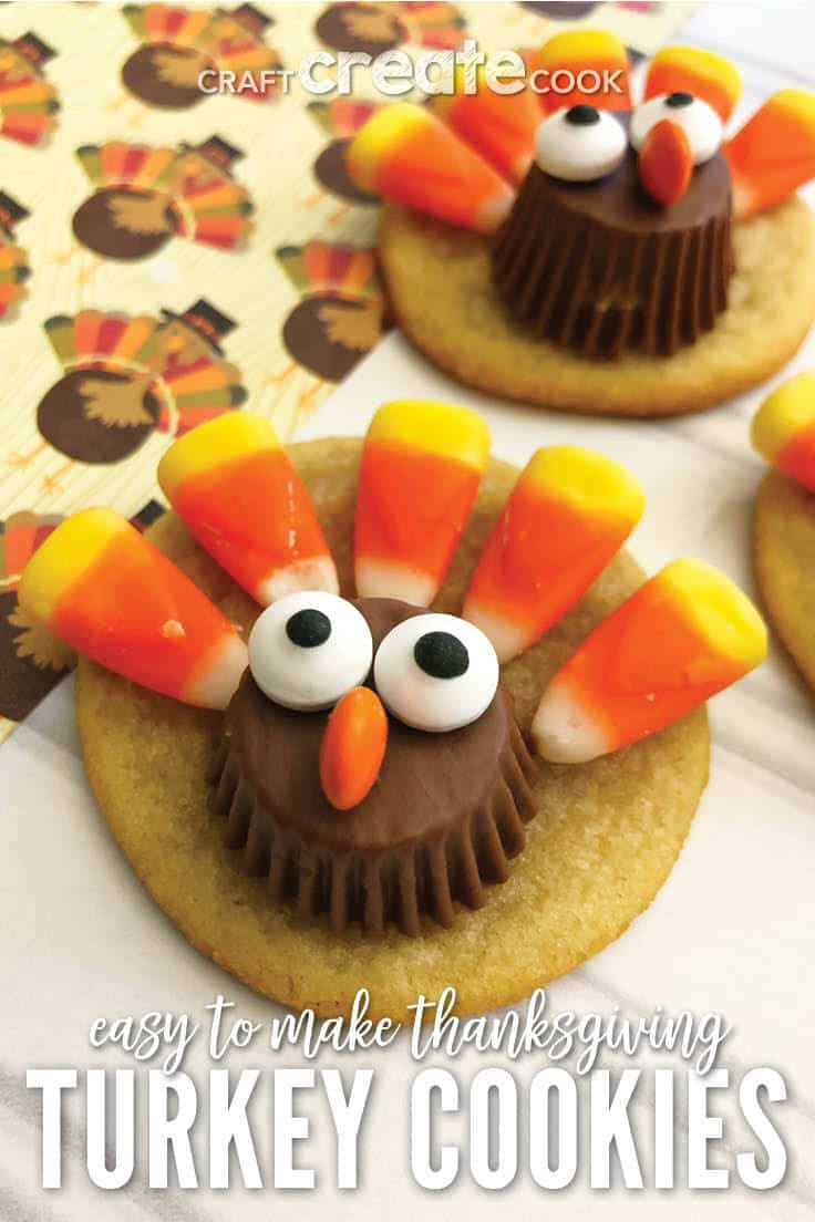 Easy To Make Thanksgiving Turkey Cookies Ideas For The Home