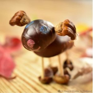 how to make horse chestnut people and animals
