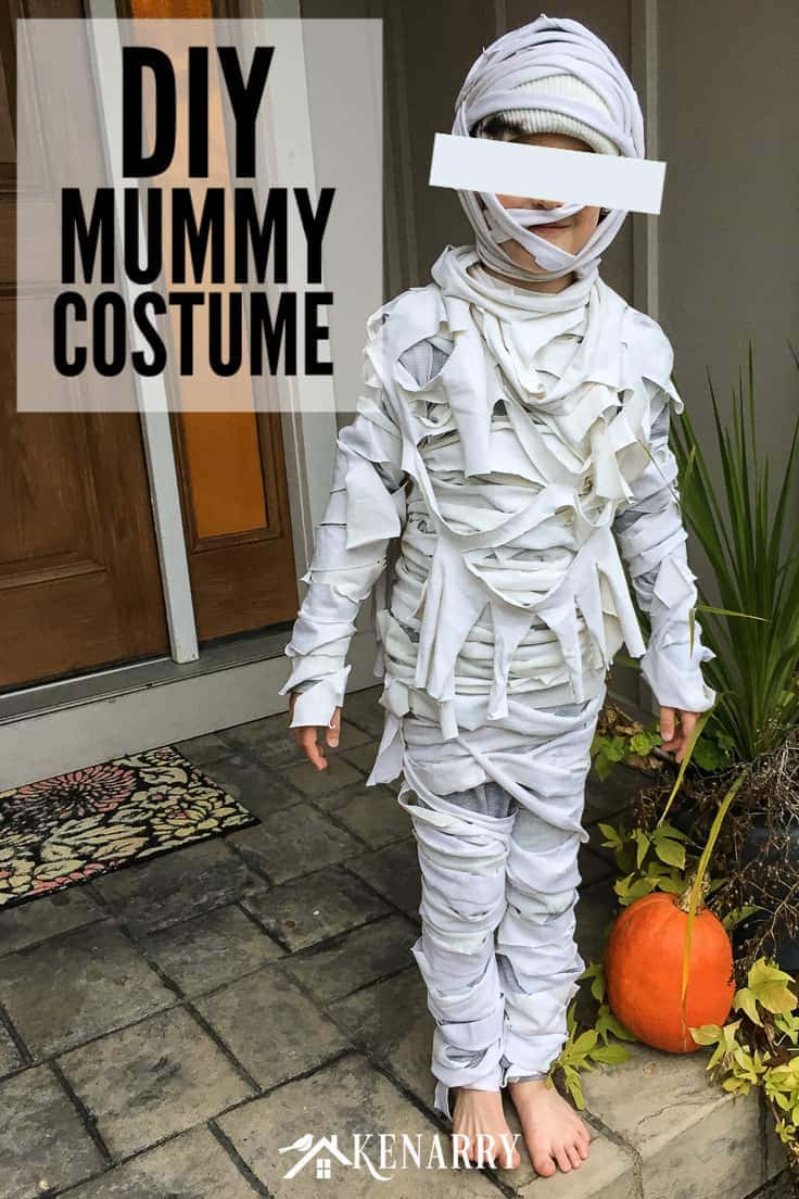 Need an easy Halloween costume idea for kids? In this DIY tutorial, you'