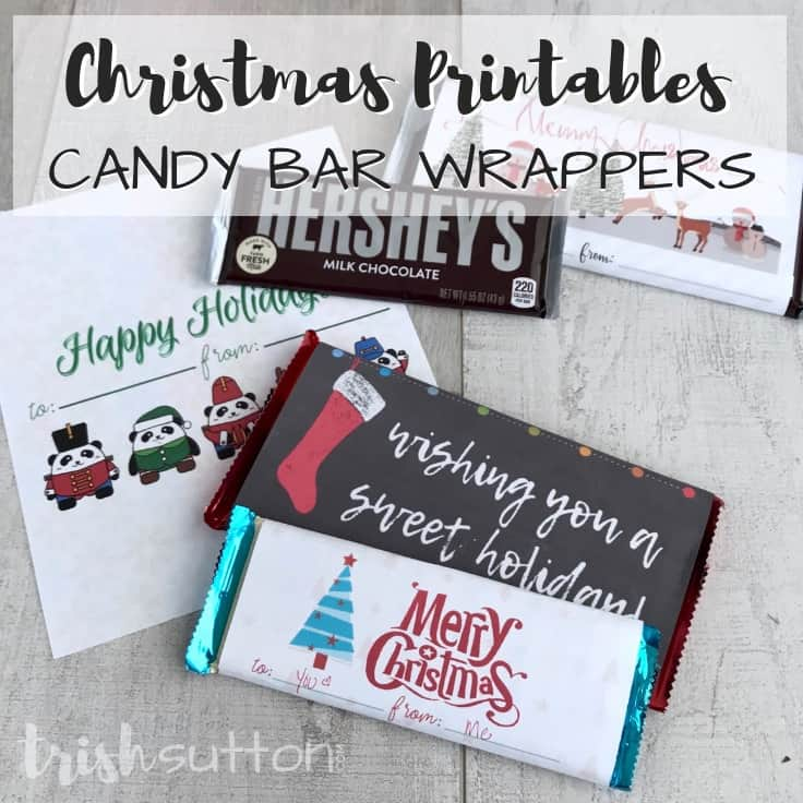 graphic relating to Printable Hershey Bar Wrappers identified as No cost Printable Sweet Bar Wrappers Very simple Xmas Reward