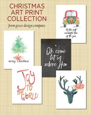 Printable Christmas Artwork