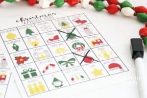 Christmas Scavenger Hunt Game for Kids