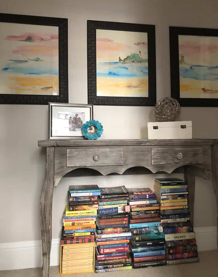How to Make an Abstract Watercolor Triptych