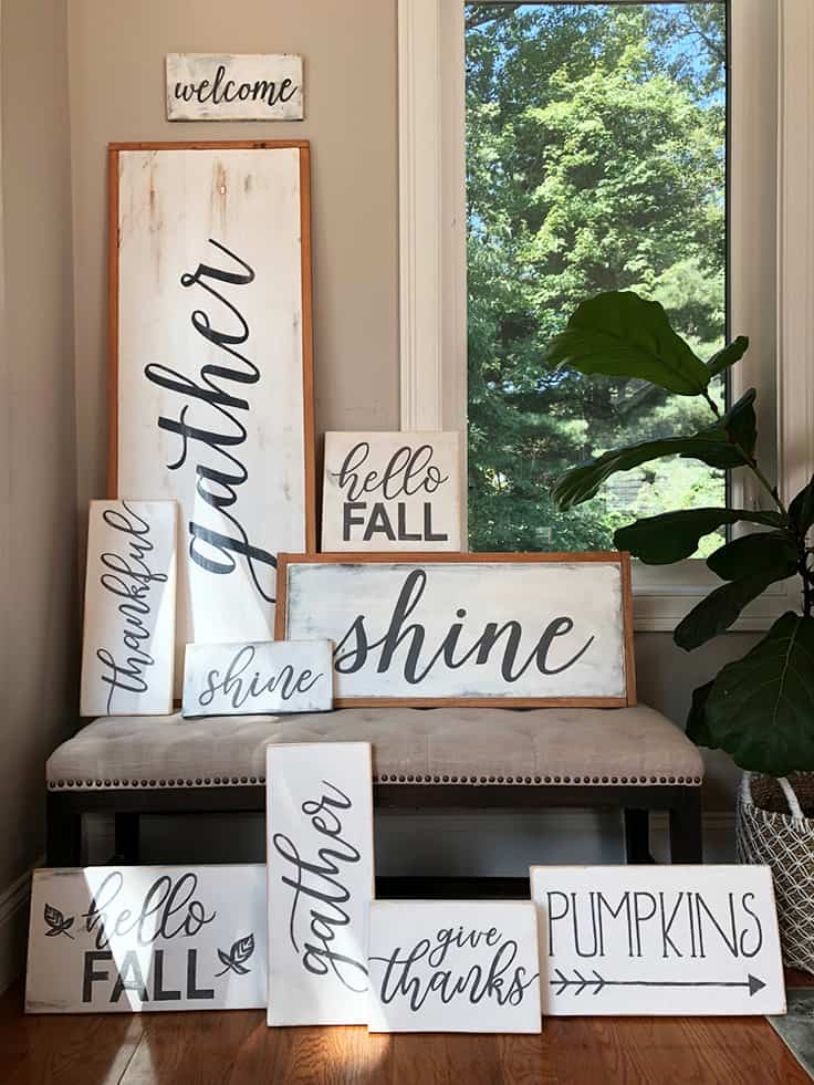 wood signs from greco design company