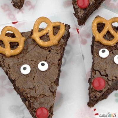 Easy Reindeer Brownies: A Holiday Recipe